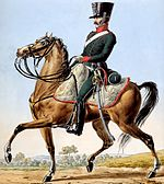 Sahuc was colonel of the 1st Chasseurs à Cheval.