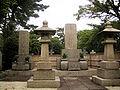Grave of Tomosaburo Kato, in the Aoyama Cemetery.jpg