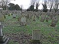 Graveyard at Lanercost Priory - geograph.org.uk - 1132396.jpg
