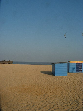 Central Beach close to the Jetty Great Yarmouth beach near the Winter Gardens.JPG