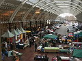 Green Park Station view of Saturday Market.JPG