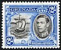 Grenada 1943 two shilling stamp.JPG
