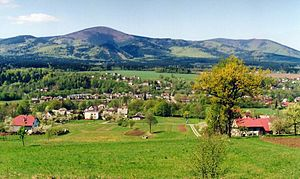 Hrádek (Frýdek-Místek District) - View of the village