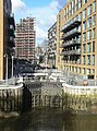 Grosvenor Canal, bottom lock gates - geograph.org.uk - 1162588.jpg