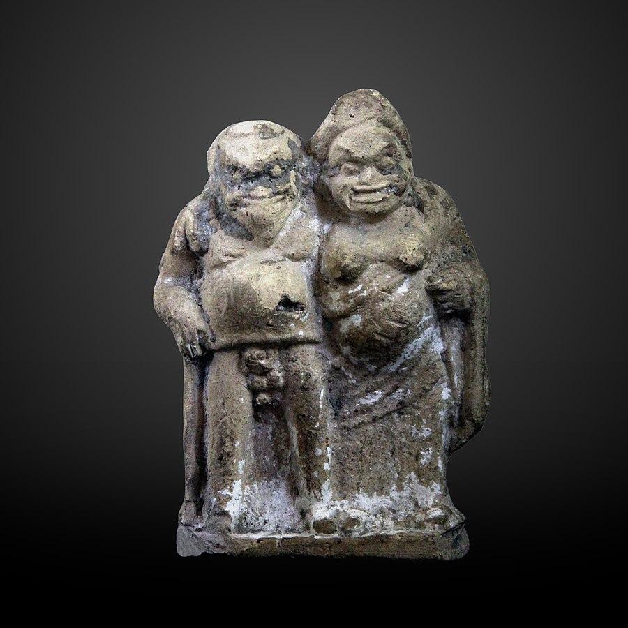 Grotesque couple-AM 39