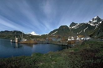 Grytviken - Whaling station Grytviken in 1989.