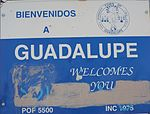 Guadalupe-Welcome to Guadalupe sign.jpg