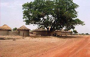 Siguiri - A village outside Siguri