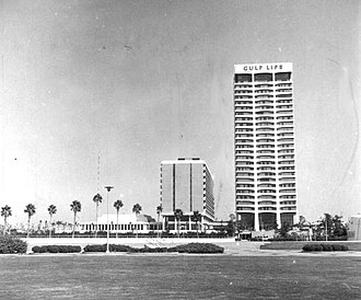 Riverplace Tower - Gulf Life Tower in 1968.