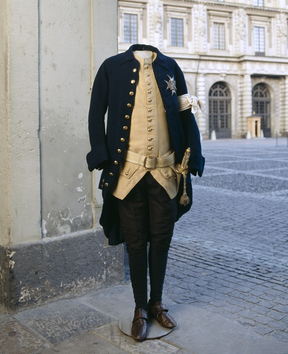 Gustav IIIs revolutionsuniform - Livrustkammaren - 47787