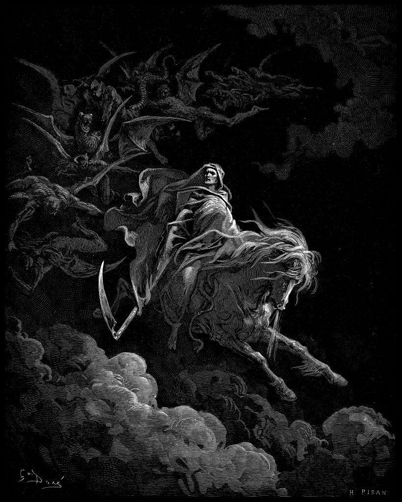 [Image: 820px-Gustave_Dore_-_Death_on_the_Pale_Horse.png]