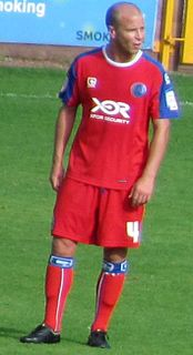Luke Guttridge British footballer