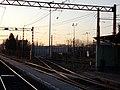 HÉV station, train depot, 2019 Cinkota.jpg