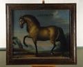 """Hästporträtt """"Gyllenlöw"""" - Skoklosters slott - 82335.tif"""