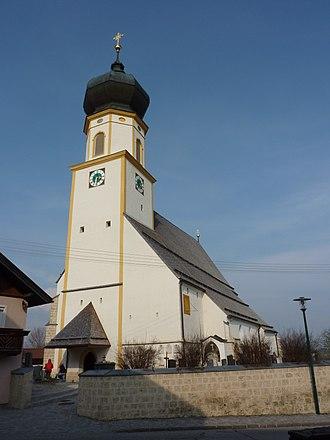 Höhnhart - Image: Höhnhart Pfarrkirche 1