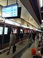 HK MTR Station Tseung Kwan O platform TV set information display July 2021 SS2.jpg