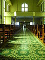HK Sai Ying Pun Third Street 聖安多尼堂 Saint Anthony's Catholic Church green floor pattern July-2012.JPG