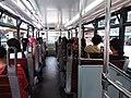 HK tram tour upper deck interior visitors August 2019 SSG 03.jpg