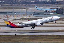 아시아나항공의 에어버스 A330