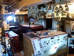 Operations room - Image: HMS Cavalier operations room