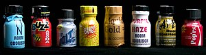 Poppers - A selection of poppers