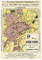 HUA-212048-Plattegrond van de stad Utrecht met weergave van het stratenplan met een aantal straatnamen belangrijke gebouwen in opstand wegen tramlijnen en spoorl.jpg