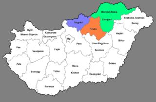 Northern Hungary Region in Hungary