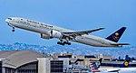 HZ-AK38 Saudi Arabian Airlines Boeing 777-3FG(ER) s-n 61597 (24384291328).jpg