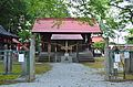 Hakusan-jinja (Sendai) haiden.JPG
