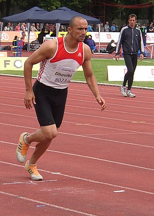 Athletics at the 2004 Pan Arab Games - Hamdi Dhouibi won the decathlon gold for Tunisia.