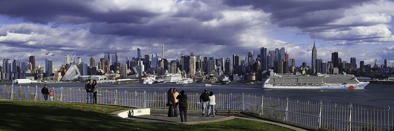File Hamilton Park Weehawken Nj Manhattan Skyline And