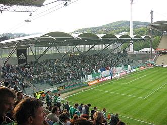 Gerhard Hanappi Stadium - Image: Hanappi Stadion West