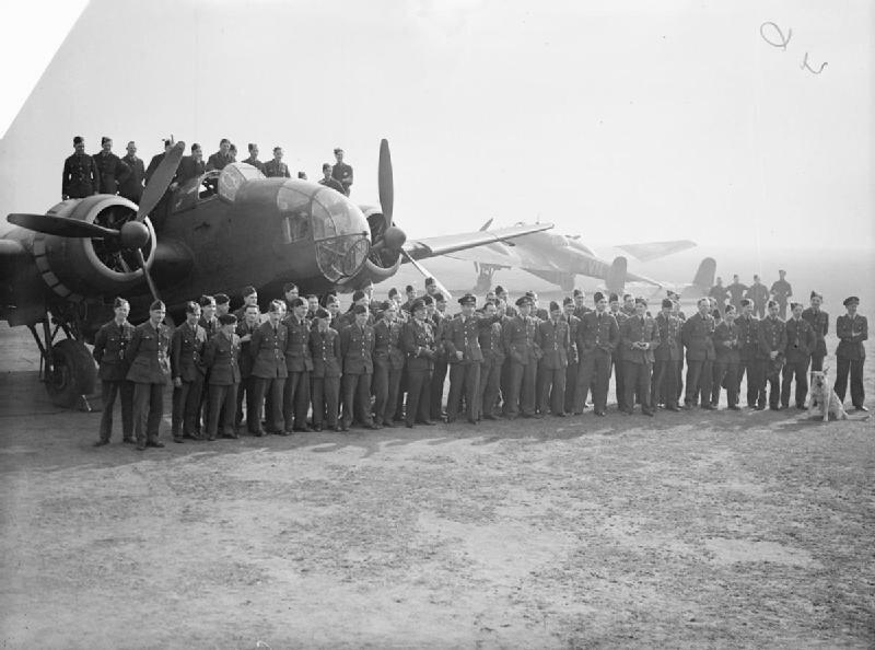 Handley Page Hampden - Waddington - Royal Air Force 1939-1945- Bomber Command C1180