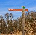 Handwijzer naar vogelkijkhut De Krakeend. Locatie, Oostvaardersplassen.jpg