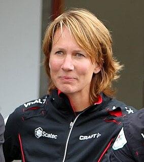 Hanne Staff Norwegian orienteer