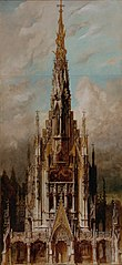 Gotische Grabkirche St. Michael, Turmfassade