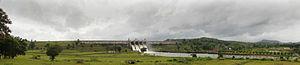 Harangi Reservoir - Image: Harangi Dam