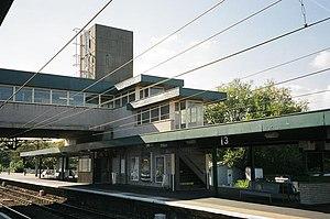 Harlow Town railway station - Platform 3
