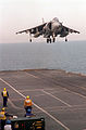 Harrier GR7 landing on HMS Illustrious (R06) 1998.JPEG