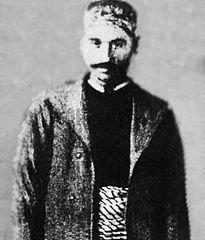 A man in traditional Levantine Arab dress