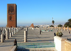 Rabat - Hassan Tower.