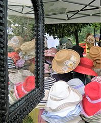 Hats at the Green fair, Rome.jpg