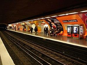 Havre – Caumartin (Paris Métro) - Image: Havre Caumartin Ligne 9