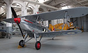 Hawker Fury MkI K5674 in hangar 2 (5922642350).jpg