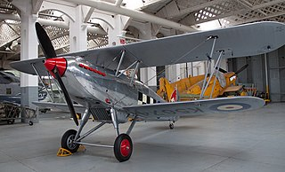Hawker Fury 1931 fighter aircraft family by Hawker