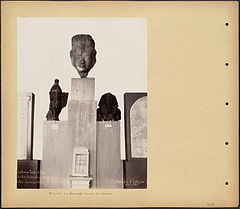 Heads of Statues found at Karnak by Boston Public Library.jpg