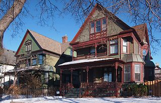 Healy Block Residential Historic District United States historic place