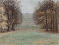 Heinrich Dohm - Frederiksberg Slot set fra haven - 1907.png