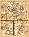 Heinrich Kiepert. Roma urbs ab Augusti Imp. tempore cum muris ab Aureliano et Honorio.jpg