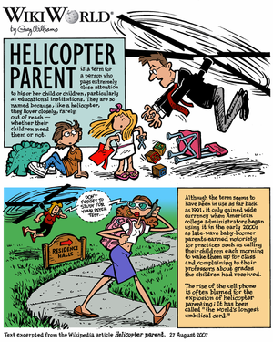 WikiWorld comic based on the article